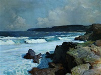 the cove by frederick judd waugh