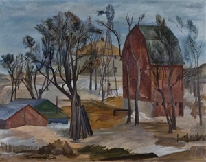 the red barn by stanford fenelle