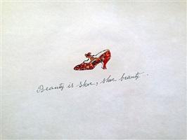 beauty is shoe, shoe beauty by andy warhol