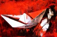 paper caravel by yoel diaz galvez