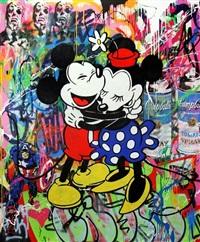 mickey & minnie by mr. brainwash