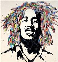 bob marley by mr. brainwash
