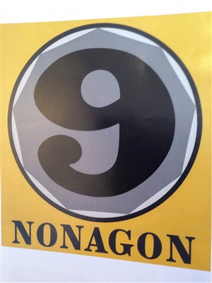 nonagon by robert indiana
