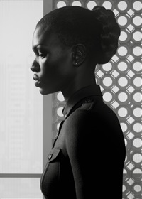 waiting: nairobi portrait 1 by erwin olaf