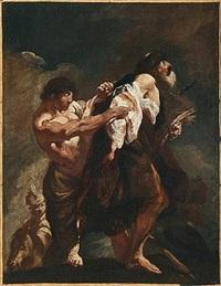 san jacopo trascinato al martirio by giovanni battista piazzetta