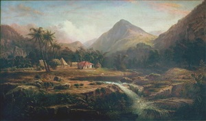 coffee plantation in the mountains of cuba by osbert burr loomis