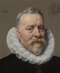 an unknown man, aged fifty-six by frans pourbus the younger