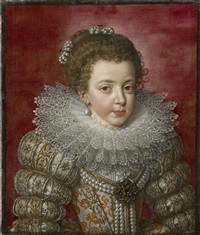 elisabeth of france (1602 – 1644), later isabelle, queen of spain by frans pourbus the younger