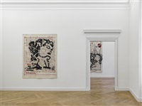 winterreise (installation view) by william kentridge