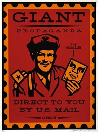 mail man by shepard fairey