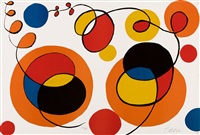 loops and spheres, 53/95 by alexander calder