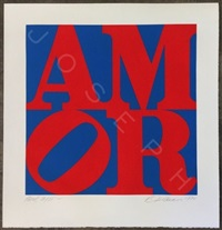 amor by robert indiana