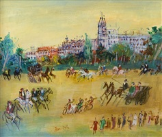 avenue foch by jean dufy