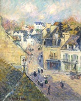 pont-aven by gustave loiseau