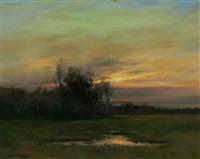 last gleam of evening by dennis sheehan