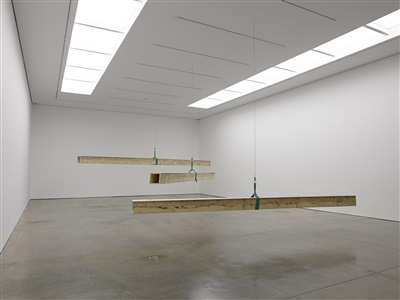 installation view white cube masons yard by virginia overton