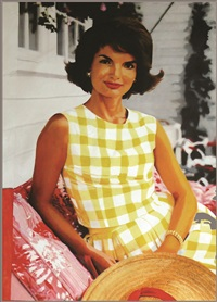 jackie kennedy by steve kaufman