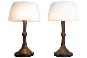 paire de lampes by franck evennou