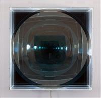 spiegelobjekt mit licht by adolf luther
