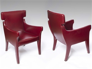 paire de fauteuils by ignazio gardella