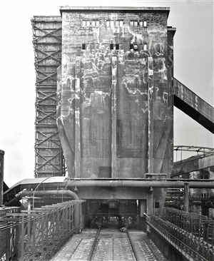 cokery, thyssen, duisburg, germany by bernd and hilla becher