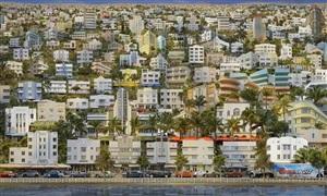 ocean drive veduta by jean-francois rauzier