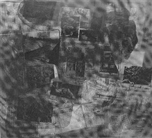 surface series from currents #41 by robert rauschenberg