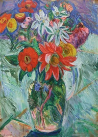 flowers by abraham manievich