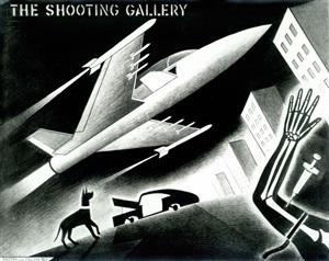 the shooting gallery by anton van dalen