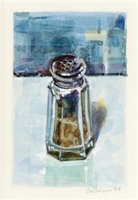pepper shaker-blue by ralph goings