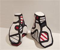 souliers de fête by jean dubuffet