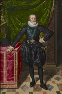 henri iv of france by frans pourbus the younger