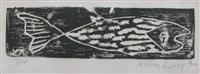 fish by milton avery