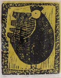 hen by milton avery