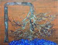 blue cherry blossum by g.r. iranna