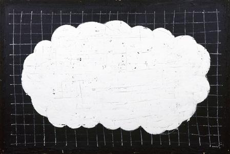 núvol blanc 4 weiße wolke 4 by joan hernández pijuan