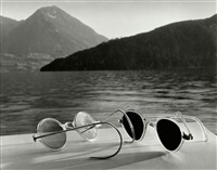 switzerland. lake lucerne (lac des quatre-cantons). 1936. by herbert list