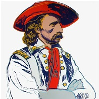 general custer (fs ii.379) by andy warhol