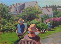 garden painters by alison hill