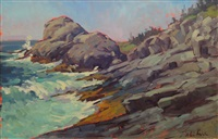 gull rock, impressions by alison hill