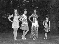miss model contestants by alec soth
