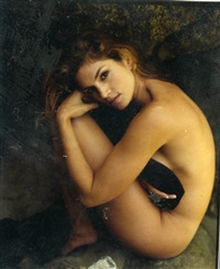 cindy crawford malibu esquire by sante d'orazio