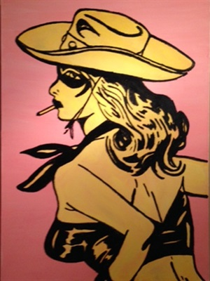 cowgirl i by justin fontaine maury