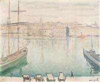 marseille, eté 1916 by albert marquet