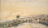 chemin animé près de la côte saint-andré by johan barthold jongkind