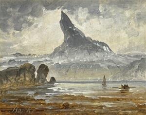 der berg stetind, nordnorwegen /<br>mount stetind, northern norway by peder balke