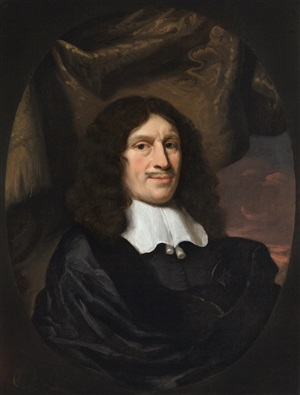 portrait of a regent by nicolaes maes