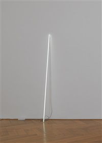 leaning horizon by cerith wyn evans