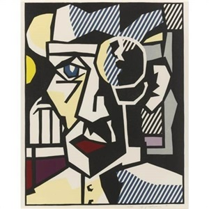 dr waldmann by roy lichtenstein