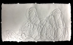 #10 meander (from the series making paper) by monika grzymala